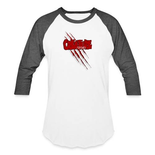 Creature Features Slash T - Unisex Baseball T-Shirt
