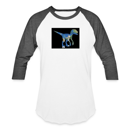 dinosaur - Unisex Baseball T-Shirt