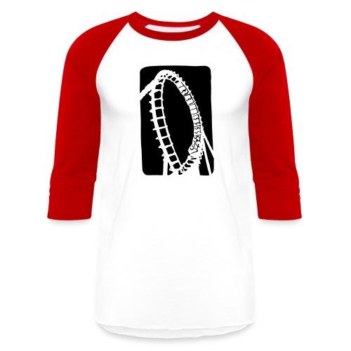 Roller Coaster - Baseball T-Shirt