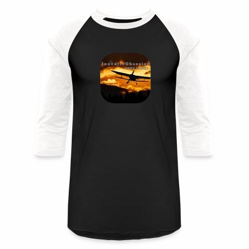 "InovativObsesion ""TAKE FLIGHT"" apparel - Baseball T-Shirt"