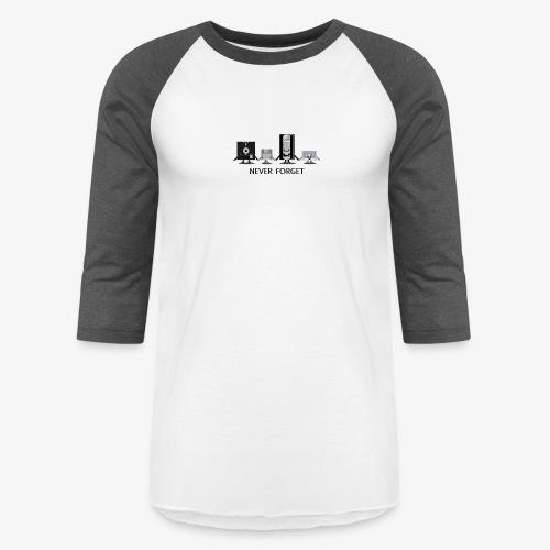 Never forget - Unisex Baseball T-Shirt