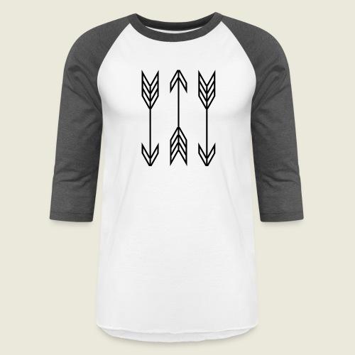 arrow symbols - Baseball T-Shirt
