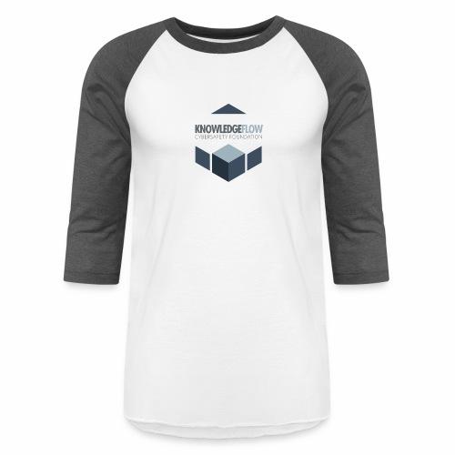 KnowledgeFlow Cybersafety Foundation - Unisex Baseball T-Shirt