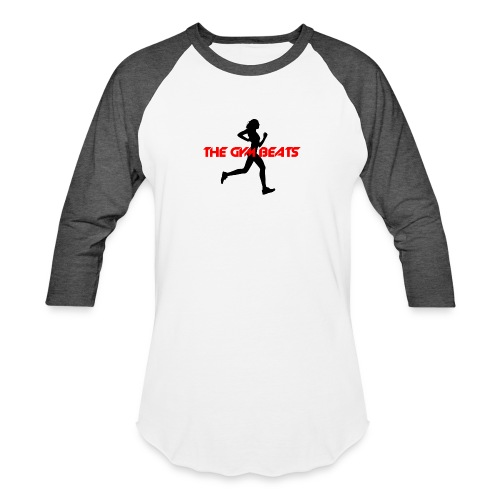 THE GYM BEATS - Music for Sports - Unisex Baseball T-Shirt