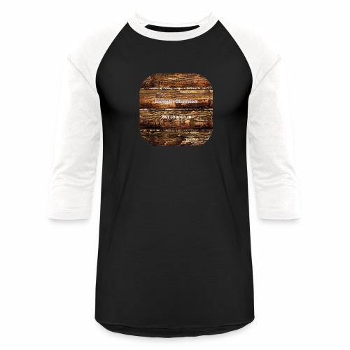 "InovativObsesion ""LOGGED IN"" apparel - Baseball T-Shirt"