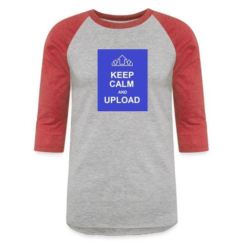 RockoWear Keep Calm - Baseball T-Shirt