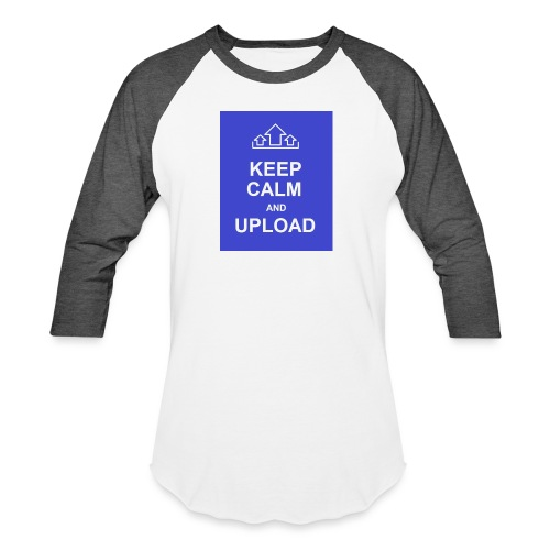 RockoWear Keep Calm - Baseball T-Shirt