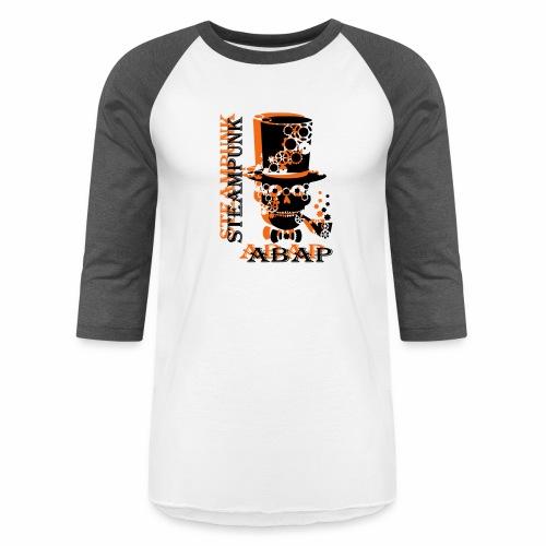 Steampunk Skull - Baseball T-Shirt