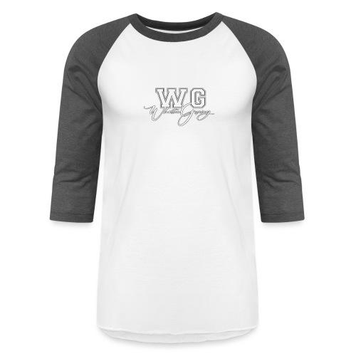 WG design white - Unisex Baseball T-Shirt