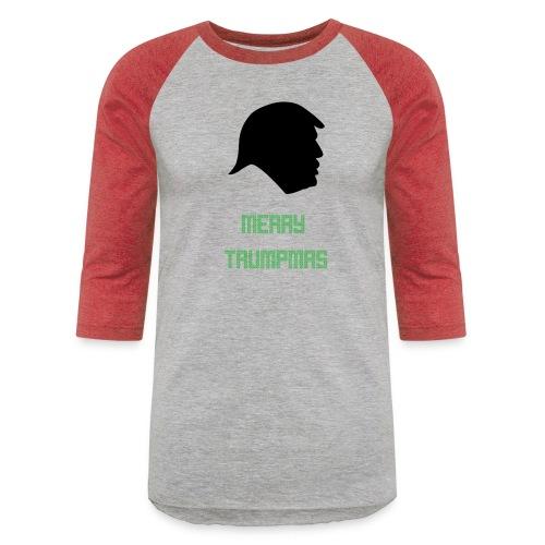 Merry Trumpmas Green - Baseball T-Shirt