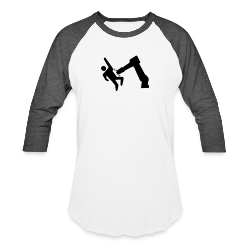 Robot Wins! - Baseball T-Shirt