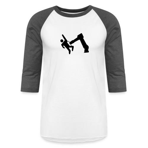 Robot Wins! - Unisex Baseball T-Shirt