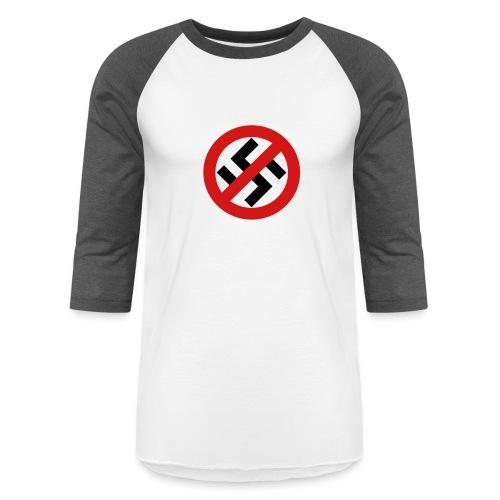 Stop Racism - Unisex Baseball T-Shirt