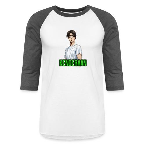 Kenderman manga style merch - Unisex Baseball T-Shirt