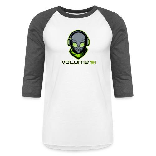 Volume 51 Text Logo - Baseball T-Shirt