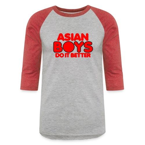 2020 Boys Do It Better 02 Asian - Unisex Baseball T-Shirt