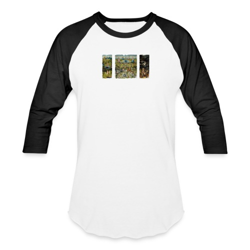 Garden Of Earthly Delights - Baseball T-Shirt