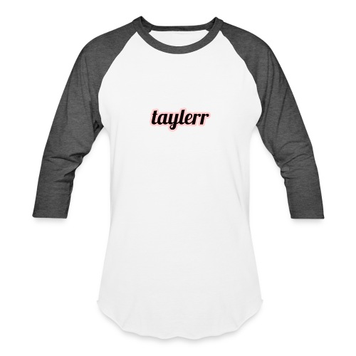 Taylerr Brand Bold Logo // 2nd collection // - Baseball T-Shirt