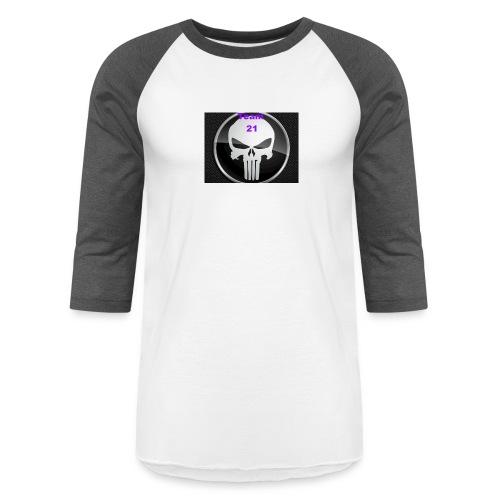 Team 21 white - Unisex Baseball T-Shirt