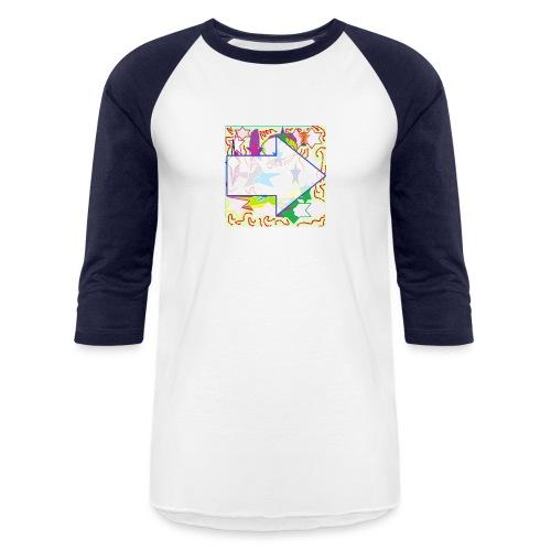 shapes - Baseball T-Shirt
