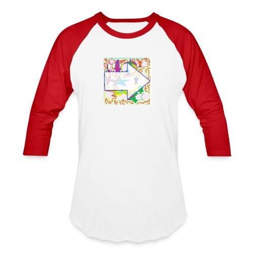 shapes - Baseball T-Shirt