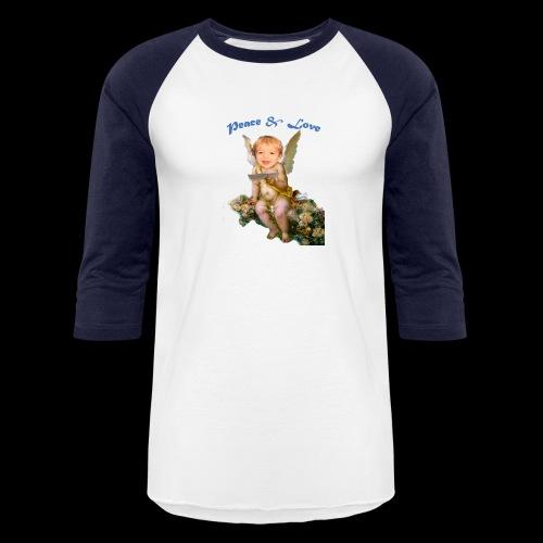 Peace and Love - Baseball T-Shirt