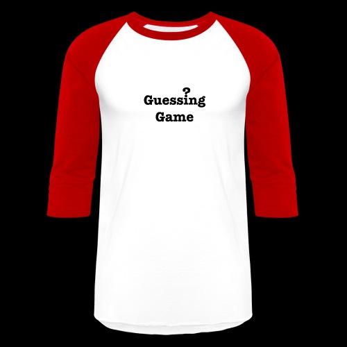 Question - Unisex Baseball T-Shirt