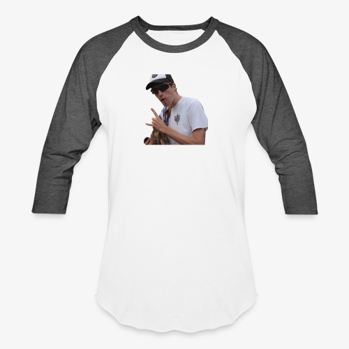 Big Bad Wolf - Unisex Baseball T-Shirt