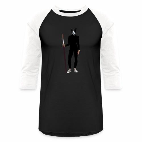Cat Artist - Baseball T-Shirt