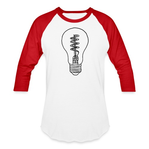 Vintage Light Bulb - Baseball T-Shirt