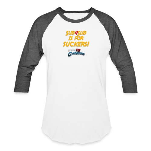 Anti Sub4Sub - Unisex Baseball T-Shirt