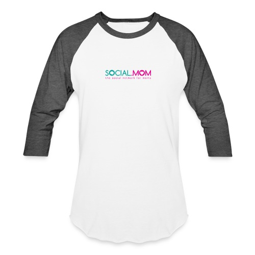 Social.mom Logo English - Baseball T-Shirt