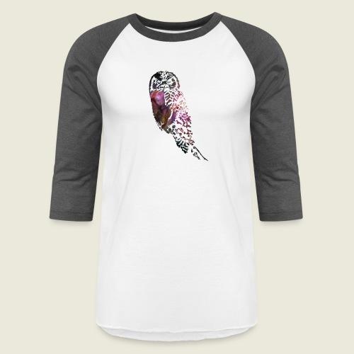 Galactic Owl - Baseball T-Shirt