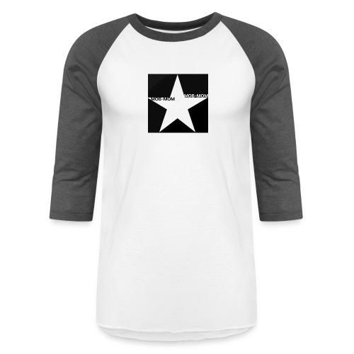 MOB-MOM FIRST DEFENDER* - Unisex Baseball T-Shirt