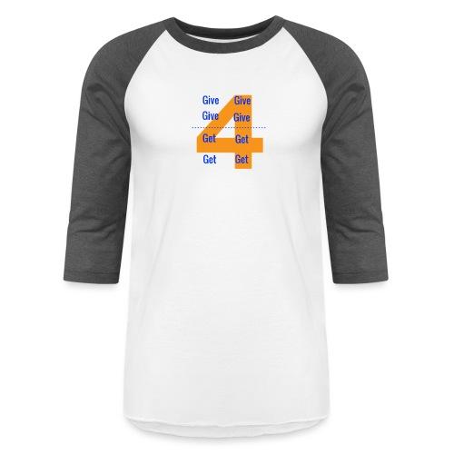 Forgive & Forget - Unisex Baseball T-Shirt