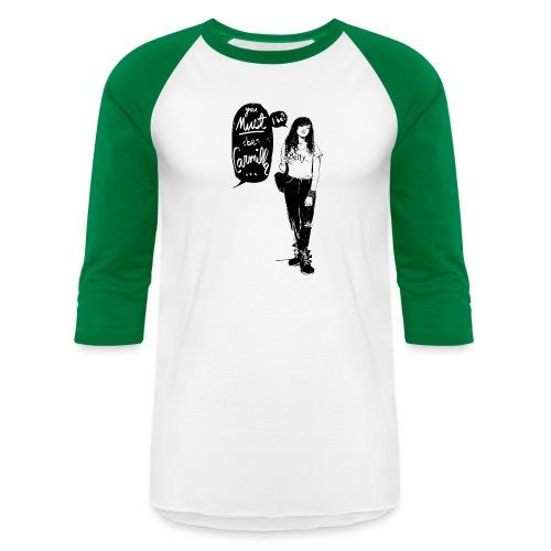 Valentine M. Smith x Carmilla - Unisex Baseball T-Shirt