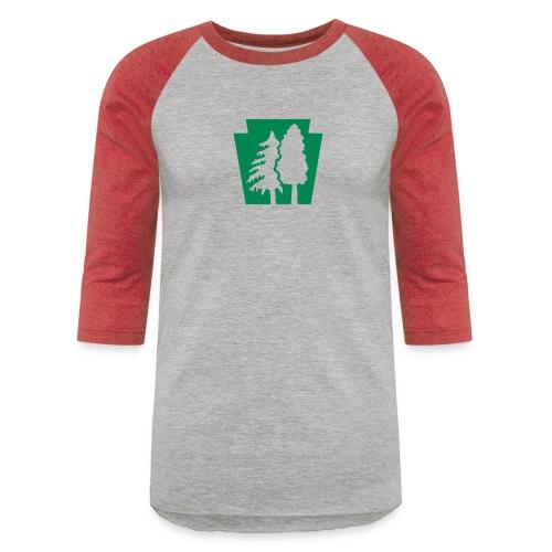 PA Keystone w/trees - Baseball T-Shirt