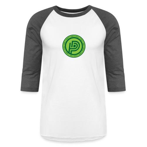 Lingo Logo - Unisex Baseball T-Shirt