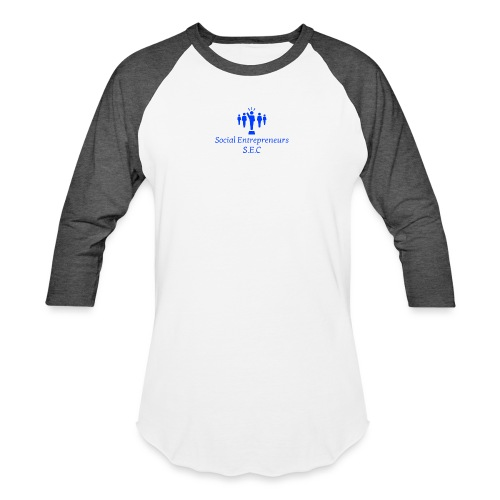 Social E - Unisex Baseball T-Shirt