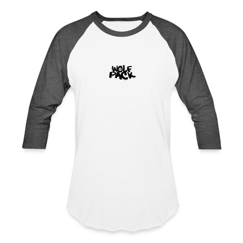 Krazy Hounds Wolfpack Paw Logo - Baseball T-Shirt