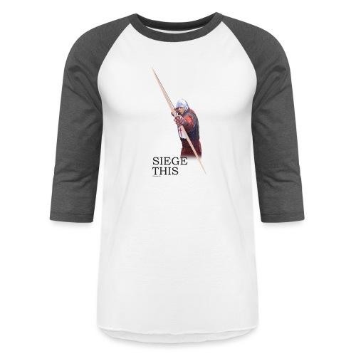 Siege This Mens standard T - Unisex Baseball T-Shirt