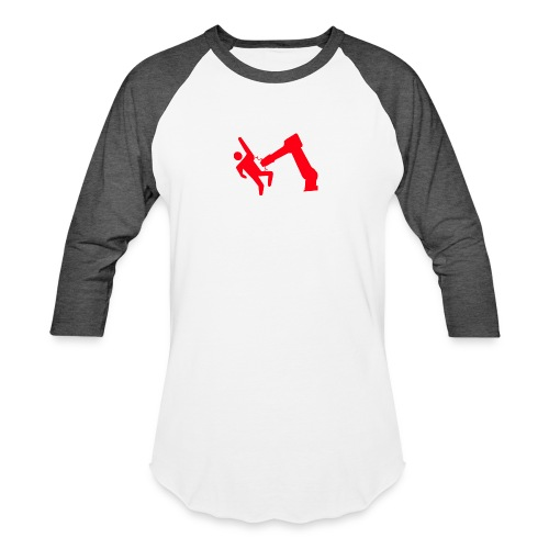 Robot Wins - Baseball T-Shirt