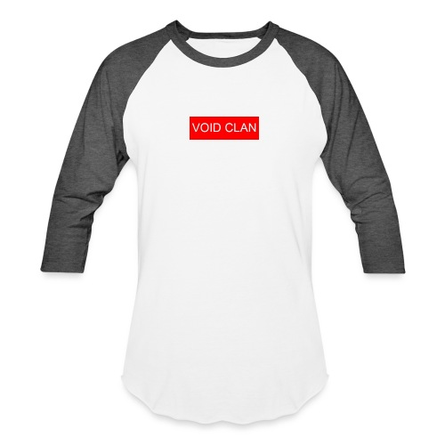 VOID BOX LOGO - Unisex Baseball T-Shirt
