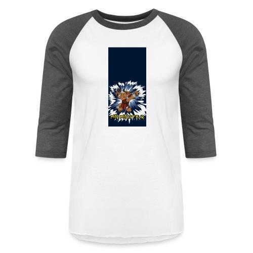 minotaur5 - Unisex Baseball T-Shirt