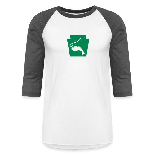 Pennsylvania Fishing Keystone PA - Baseball T-Shirt