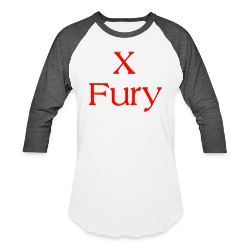 X Fury - Baseball T-Shirt