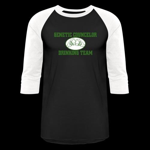 genetic counselor drinking team - Baseball T-Shirt