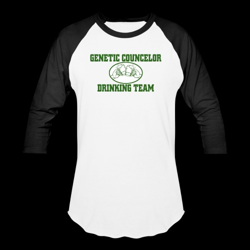genetic counselor drinking team - Baseball T-Shirt