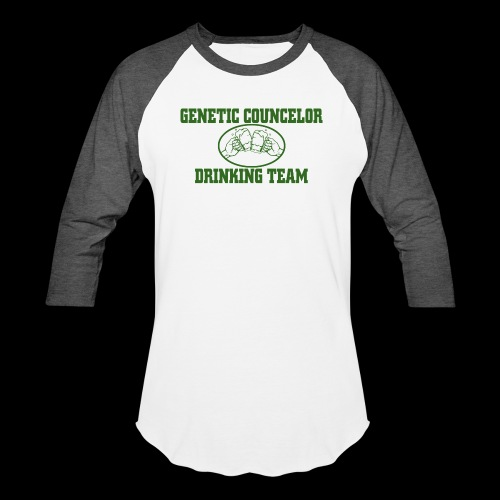 genetic counselor drinking team - Unisex Baseball T-Shirt