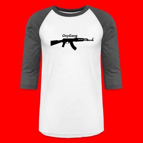 OxyGang: AK-47 Products - Unisex Baseball T-Shirt